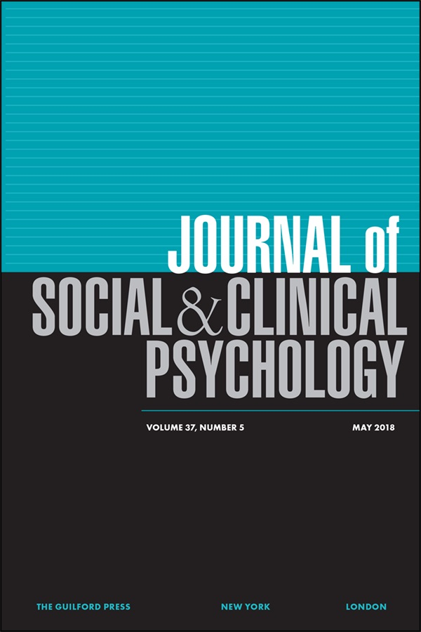 Journal of Social and Clinical Psychology